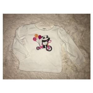 Gymboree Panda Academy Balloon Tricycle Outfit 2T